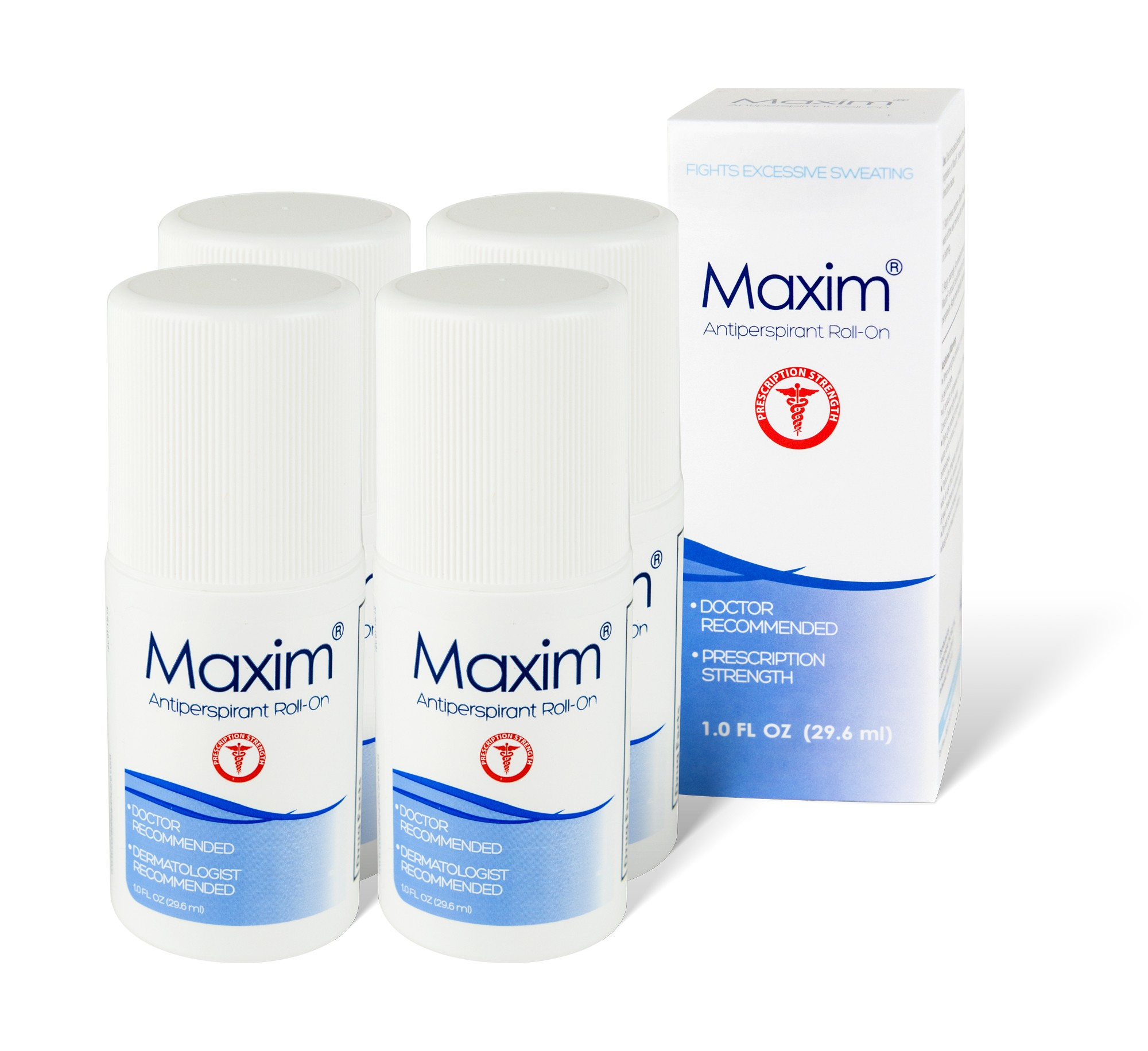 Maxim Antiperspirant 4-pack - Save 14.85