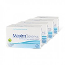 Maxim Sensitive Wipes 4-pack - Save 30%